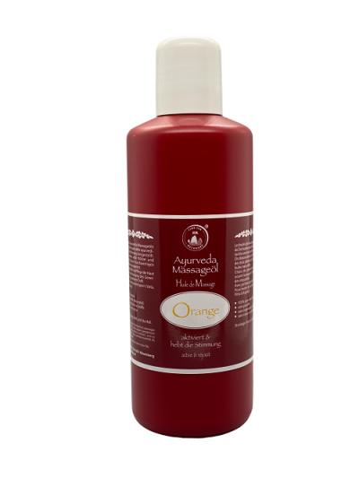 Dschunkes Ayurveda Massageöl Orange 500 ml