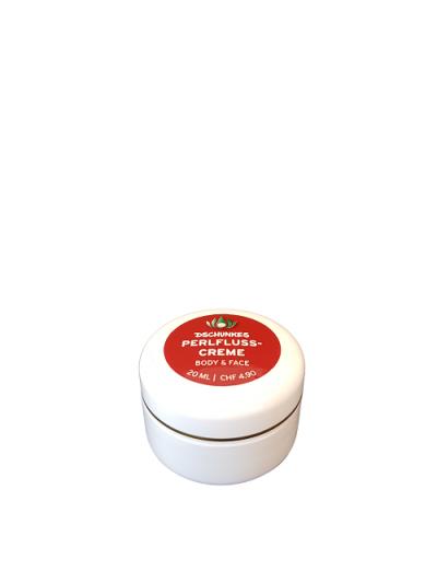 Dschunkes Perlfluss Pflegecreme 20 ml-Dose